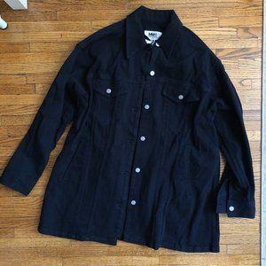 MM6 Margiela Oversized twill denim jacket